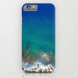The View of Two Lovers iPhone Case