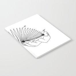 Use of Toy Slinky Notebook