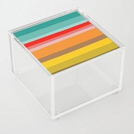 Color Stripes Acrylic Box