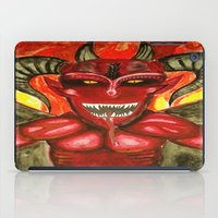demon iPad Cases featuring Demon by Emowolf145