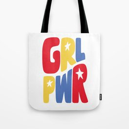 GRL PWR Star Tote Bag