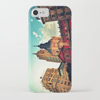madrid iPhone & iPod Cases featuring Madrid Sky by Melanie Ann