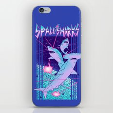 Space Sharks! iPhone Skin