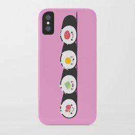 Happy Sushi! - Vector iPhone Case