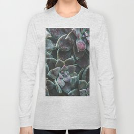 Botanical Gardens II - Succulents #157 Long Sleeve T-shirt