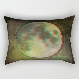 Stereo Moon Rectangular Pillow