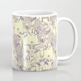 just goats purple cream Coffee Mug