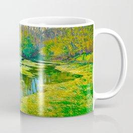 Václav Radimský (1867-1946) Modern Impressionist Oil Painting Colorful Bright Landscapes Coffee Mug