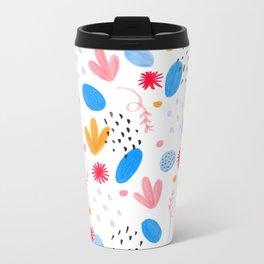 Pattern nº1 Metal Travel Mug