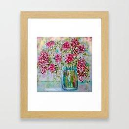 Blossoms of Light Framed Art Print