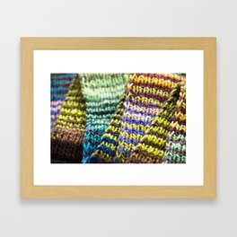Stitch By Stitch Framed Art Print