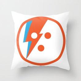 David Bowlie Throw Pillow