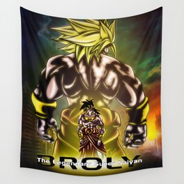 The Incredible Broly Wall Tapestry