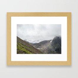 Ben Nevis Mountain Ridge Framed Art Print