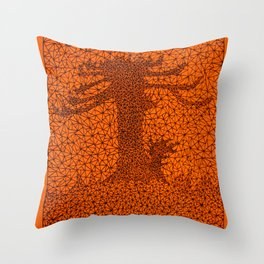 TR2 Araucaria Throw Pillow