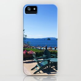 The Sagamore at Lake George - view 5 iPhone Case