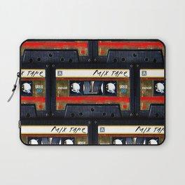 Retro classic vintage gold mix cassette tape Laptop Sleeve