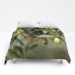 Olives On A Branch Comforters