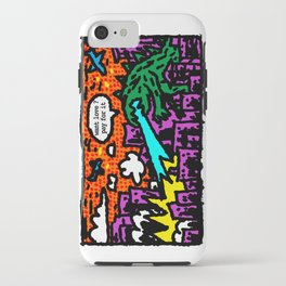 love is also a product iPhone Case