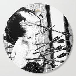 asc 778 - La lione blessée (Love is a killer) Cutting Board