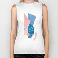 southwest Biker Tanks featuring southwest by cardboardcities