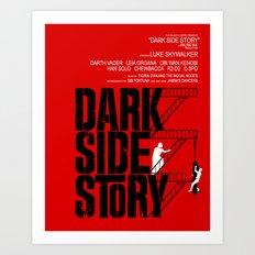 Dark Side Story Art Print