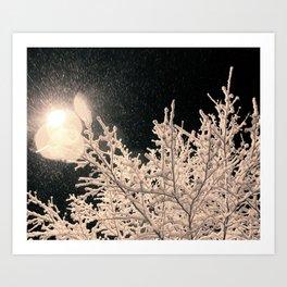 Specks Art Print