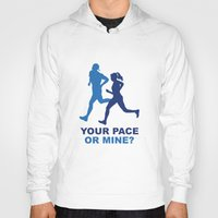 lee pace Hoodies featuring Your Pace Or Mine? by AmazingVision