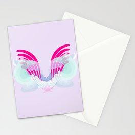 neon owlish Stationery Cards