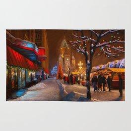 Timisoara Christmas Market Rug