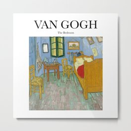 Van Gogh - The Bedroom Metal Print