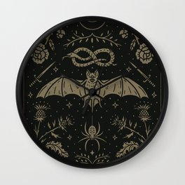 Cemetery Nights Wall Clock