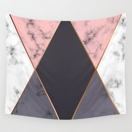 Marble Geometry 018 Wall Tapestry