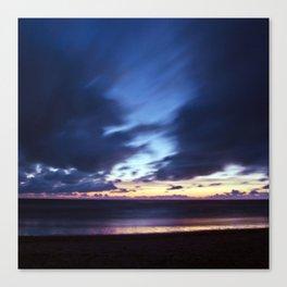 Magic Henne Beach on the West Coast of Denmark Canvas Print