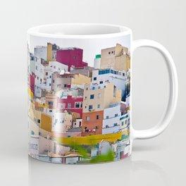Edificios Colores Las Palmas Coffee Mug