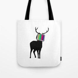 Deer TV Tote Bag