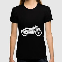 Motor Cycle Outline T-shirt