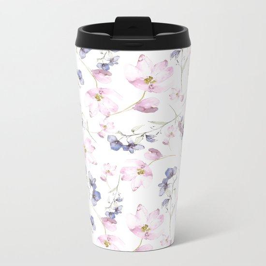 flower fairy Metal Travel Mug