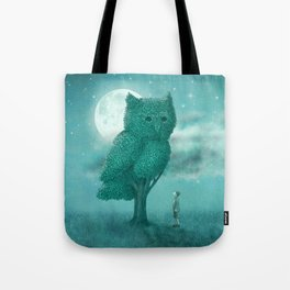 The Night Gardener Tote Bag