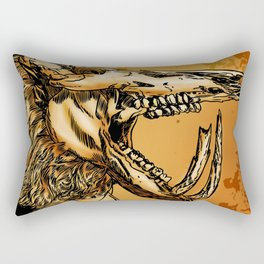 GOLD BEAST Rectangular Pillow