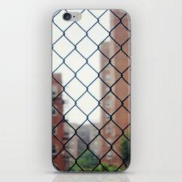 Seeing Through New York City iPhone Skin