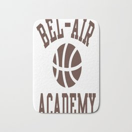 Fresh Prince Bel-Air Academy Basketball Shirt Bath Mat