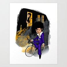 The Purple Kid Art Print