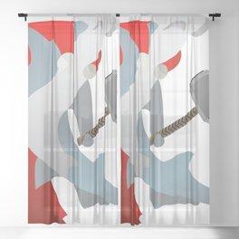 Hammer-Head Sheer Curtain
