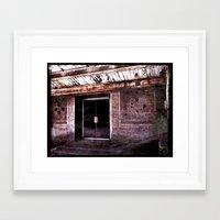 silent hill Framed Art Prints featuring Silent Hill by Damn_Que_Mala