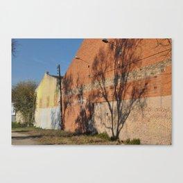 Barcelona, Beachside Canvas Print