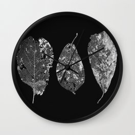Decomposition of Leaves Wall Clock