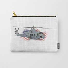 Patriotic UH-1Y Venom Helicopter Carry-All Pouch