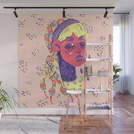 Angry medusa Wall Mural