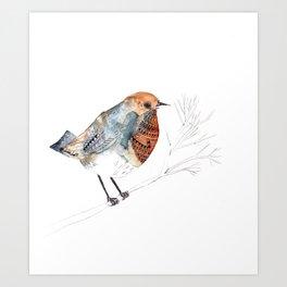 Rockin' Robin Art Print